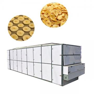 Dehydrator Carrot Konjac Yam Microwave Vegetable Drying Heat Blanching Equipment