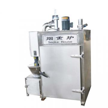 Commercial Ce Approved Pork Salmon Turkey Sausage Drying Smokehouse Meat Smoker Smoking Machine