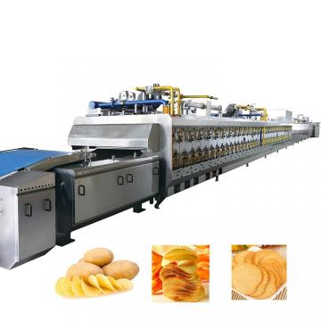 Electric Potato Vegetable Washing Peeling Potato Chips Cutting Machine Price